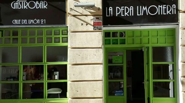 Entrada - La Pera Limonera, Madrid