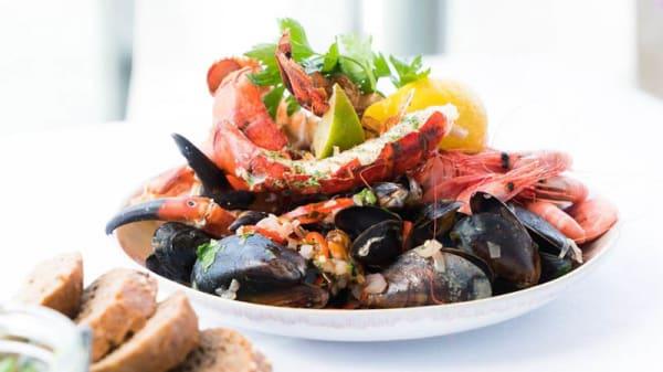Piatto di pesce - L'Osteria del Mare, Rome