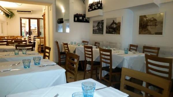 Vista sala - Longano Ristorante Pizzeria, Capri