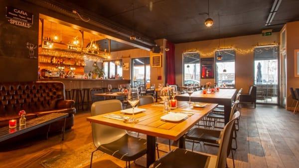 Het restaurant - Caña IJburg, Amsterdam