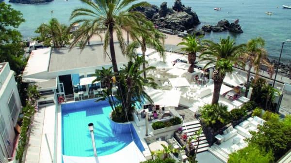 Veduta dell esterno - Sicilia's Cafe de Mar, Aci Castello