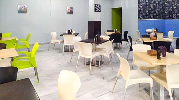 Vista de la sala - Karma Cafe & Tapas, Adra