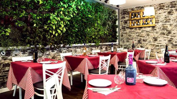 Interior - Trattoria Mamma Franca, Málaga
