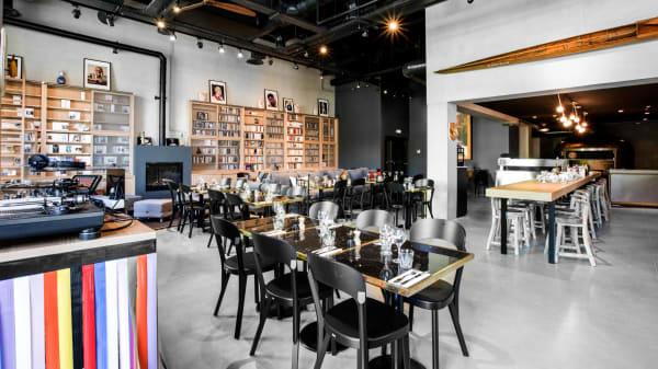 salle de restaurant - Karlito @mobhotel Lyon, Lyon