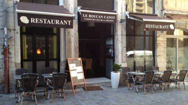 devanture - Le Boucan Canot, Lyon