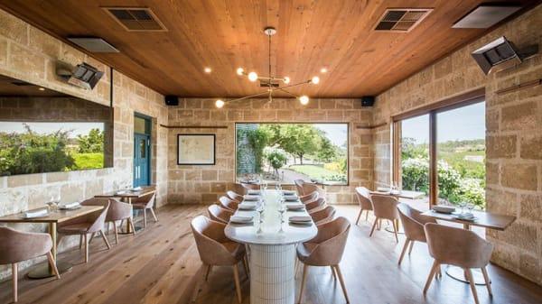 Room view - Maxwell Restaurant, McLaren Vale (SA)