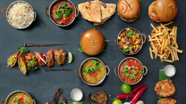 Zahida full menu - Zahida, København