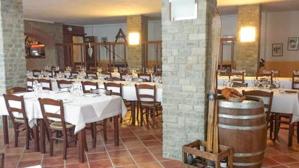 Vista sala - Cascina Adorno, Ponti