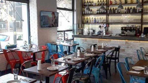 Vista de la sala - Santo Bar de Pizzas, Autonomous City of Buenos Aires