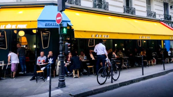 Entrée / Terrasse - Le Roi de Pique, Paris