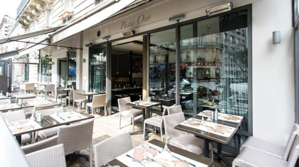 Vue terrasse - Pasta Oro, Paris