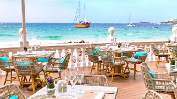 Vista terraza - A Popa - Hotel Nixe Palace, Palma de Mallorca