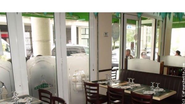 Salle du restaurant - Le Saint Georges, Bussy-Saint-Georges