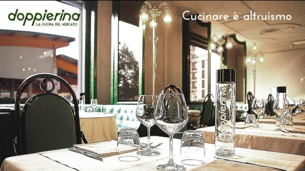 sala1 - Doppierina - la Cucina del Mercato, Novara