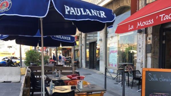 terrasse - La Mouss'Tache Saint-Antoine, Lyon