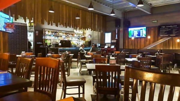 Vista de la sala - Restaurante Contigo, Ciudad de México