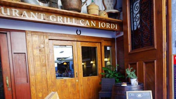 Entrada - Can Jordi, Figueres