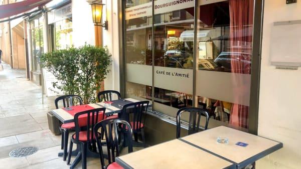 Terrasse - Café de l'Amitié, Genève