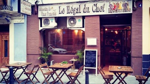 Entrada - Le Régal du Chef, Valencia
