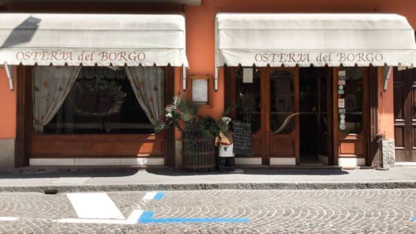 entrata - Osteria Del Borgo, Castel San Pietro Terme