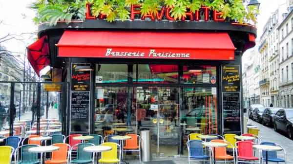 Terrasse - La Favorite, Paris
