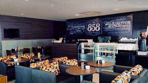 rw sala - 858 Café Bistrô, Recife