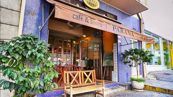 Entrada - Parana Café e Bistrô, São Paulo