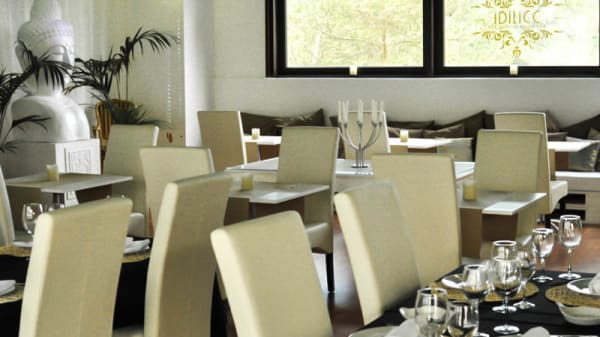 Vista sala - Idilicc Restaurant & Lounge, La Palma de Cervelló