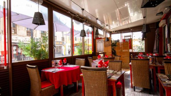 Salle du restaurant - Bistrot de l'Horloge, Sète