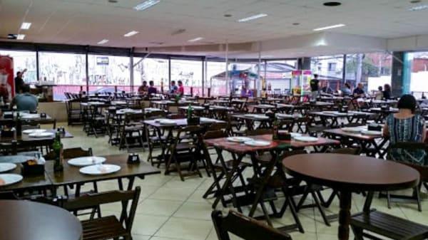 Vista do interior - Poly Pizzas Esfihas Espetos ABC, São Caetano do Sul
