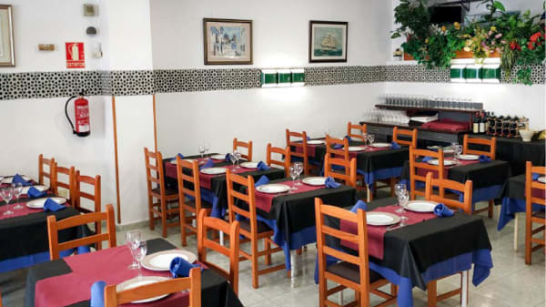 Vista del interior - Restaurante Goyo, Alicante