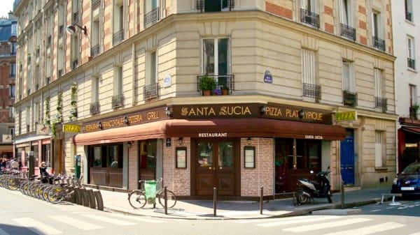 Façade - Santa Lucia, Paris