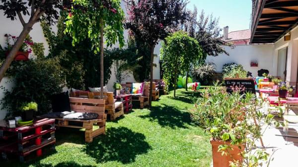 Vista terraza - El Jardín - Meeting Point, Fromista