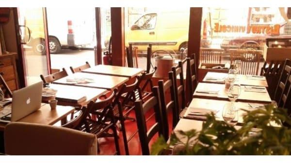 Salle du restaurant - Cave Fervéré, Paris