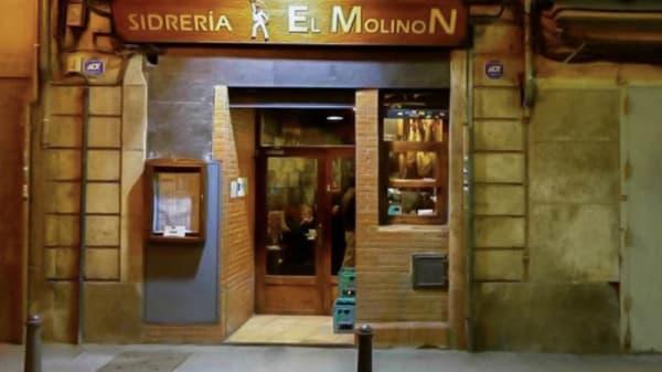 Vista entrada - Sidrería El Molinon, Valencia