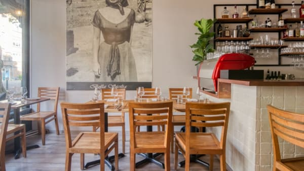 Restaurant - Osteria en pizzeria Andiamo, Rotterdam
