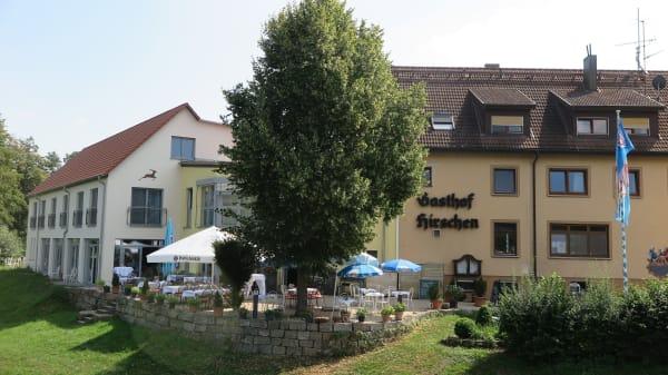 Außenansicht - Landgasthof zum Hirschen, Tauberrettersheim