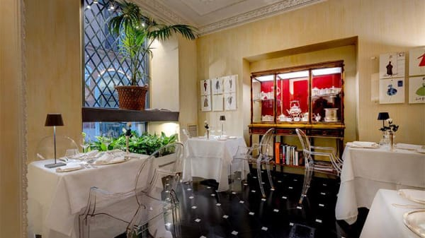 Vista sala - Sorelle Fontana Restaurant, Roma