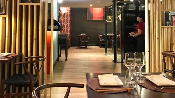 Vista Sala - Longan Asian Gastro, Madrid