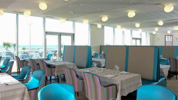 Vue salle - Restaurant le Sound - Thalasso Donville-les-Bains Hôtel de La Baie, Donville-les-Bains