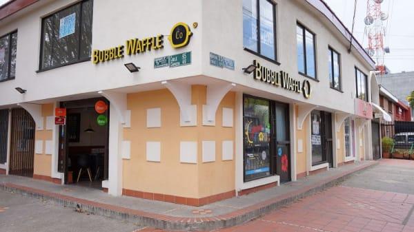 Entrada - Bubble Waffle, Bogotá