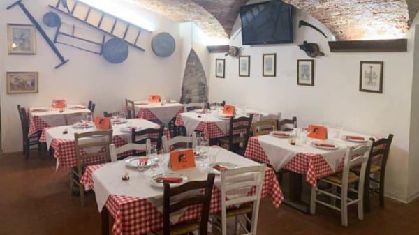 Vista sala - Trattoria Osteria Dalla Maria, Forlì