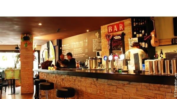 Aperçu du bar - Le Bar De La Plage, Genève
