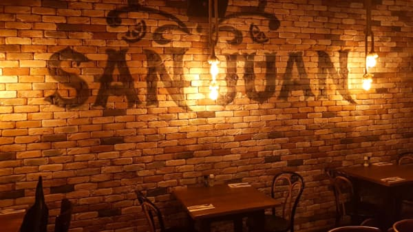 Rustieke muur - Cantina San Juan, Den Bosch