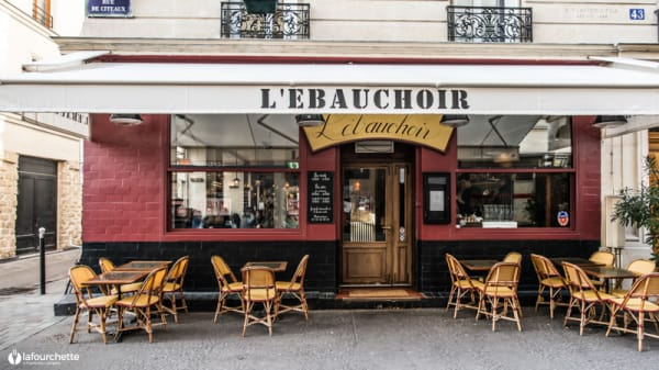 Devanture - L'Ebauchoir, Paris