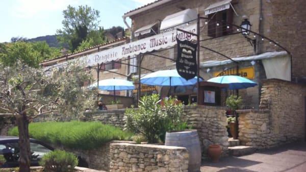 Vue extérieure - La Bergerie, Maubec