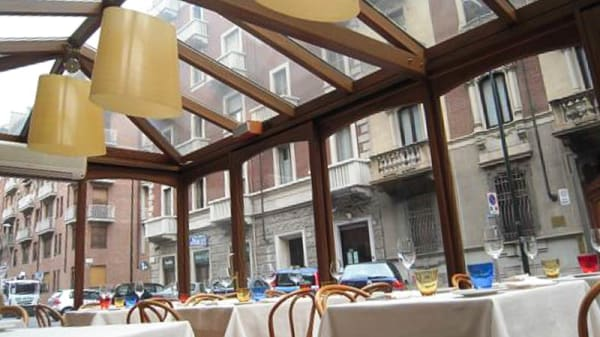 sala - Trattoria Torricelli, Torino