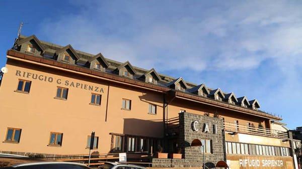 Il rifugio - Rifugio Sapienza, Nicolosi