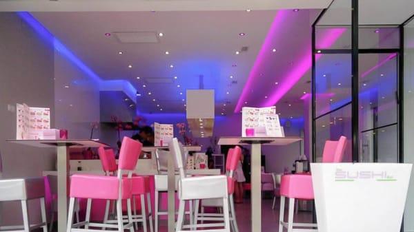 Vista sala - The Sushi Bar, Málaga