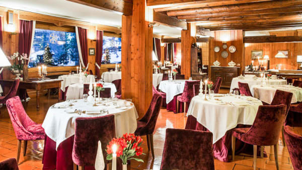 Vista sala - Hermitage Hotel, La Chandelle Restaurant, Cervinia